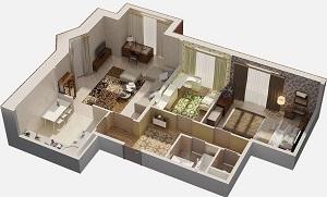 Цена капитального ремонта 3-х комнатной квартиры